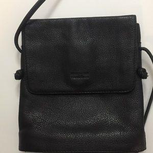 Vintage Kenneth Cole Reaction Black Leather Bag
